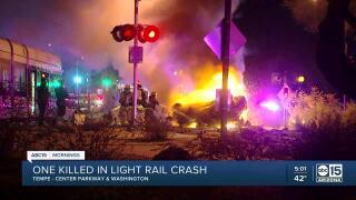 Tempe light rail crash