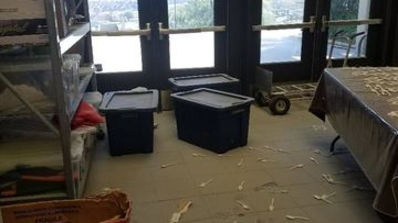 Frazier Mountain High School vandalized