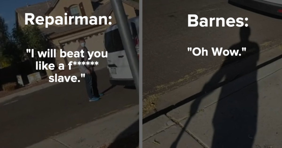 A man from the valley captures racial threats on camera