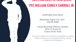 William Conely Carroll Jr. burial