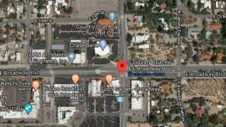 Tucson police shut down the intersection of Broadway and Tucson Boulevard due to a deadly wreck Tuesday morning. Photo via Google Maps.