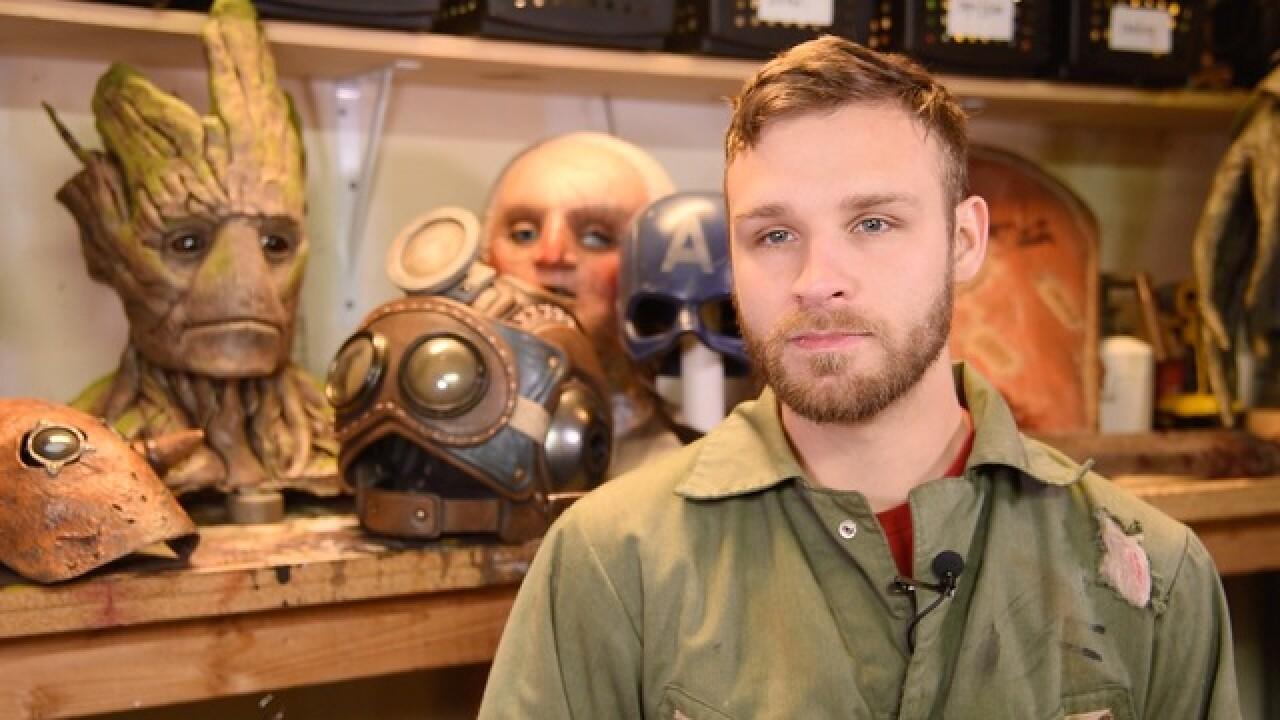 KCK man creates expert comic convention costumes