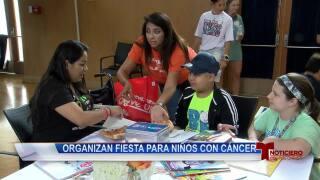 Organizan fiesta para niños con cáncer