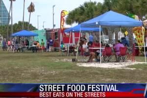 Food truck festival kicks off in downtown Corpus Christi