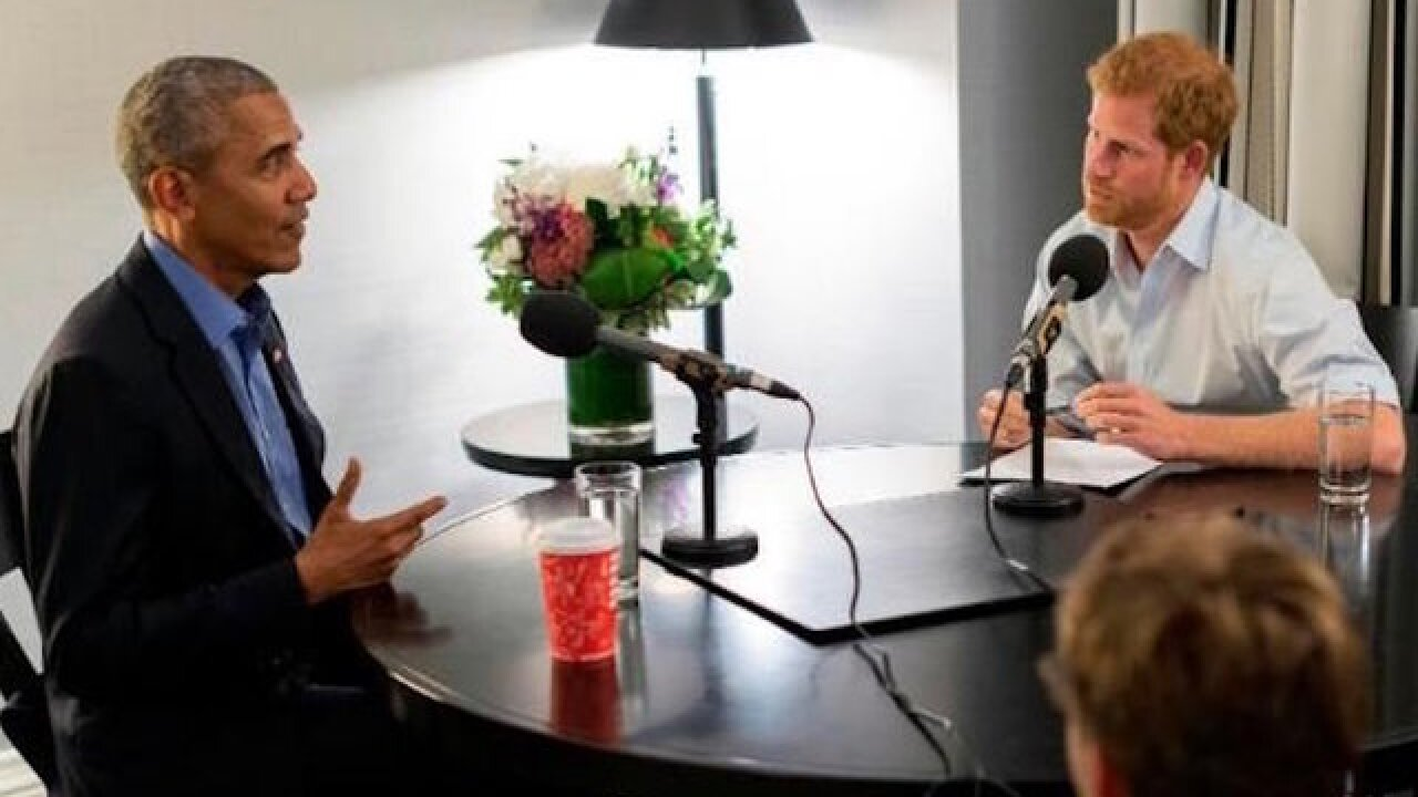 Obama warns over divisive social media use in interview with Prince Harry