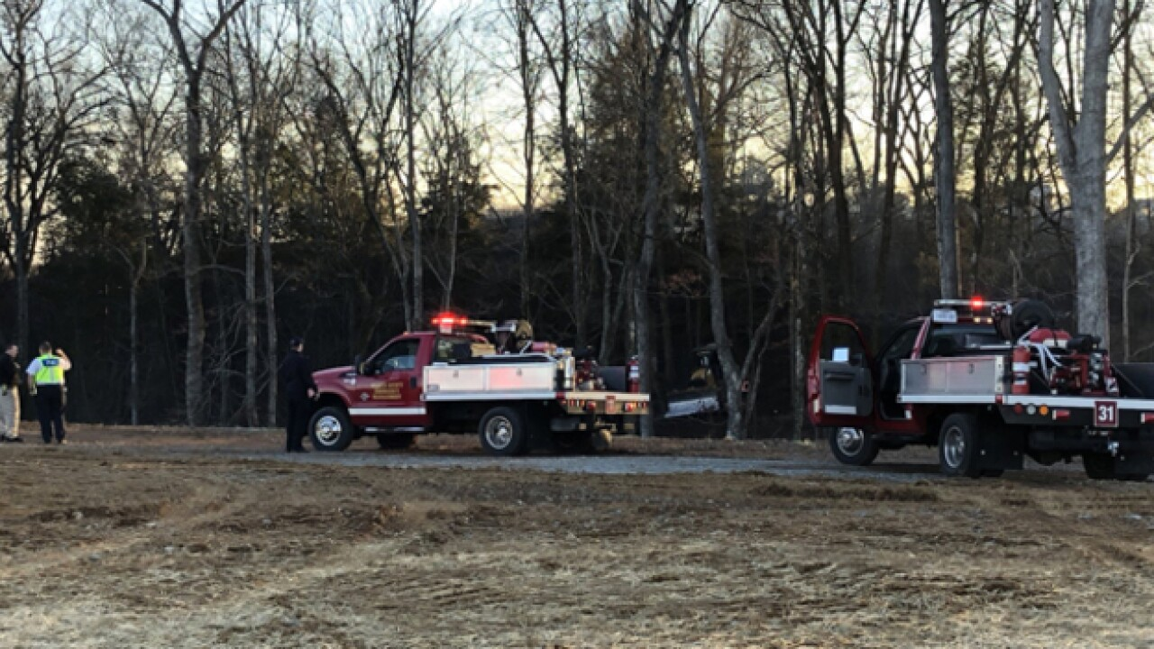 Crews Battle Brush Fires In Wilson County
