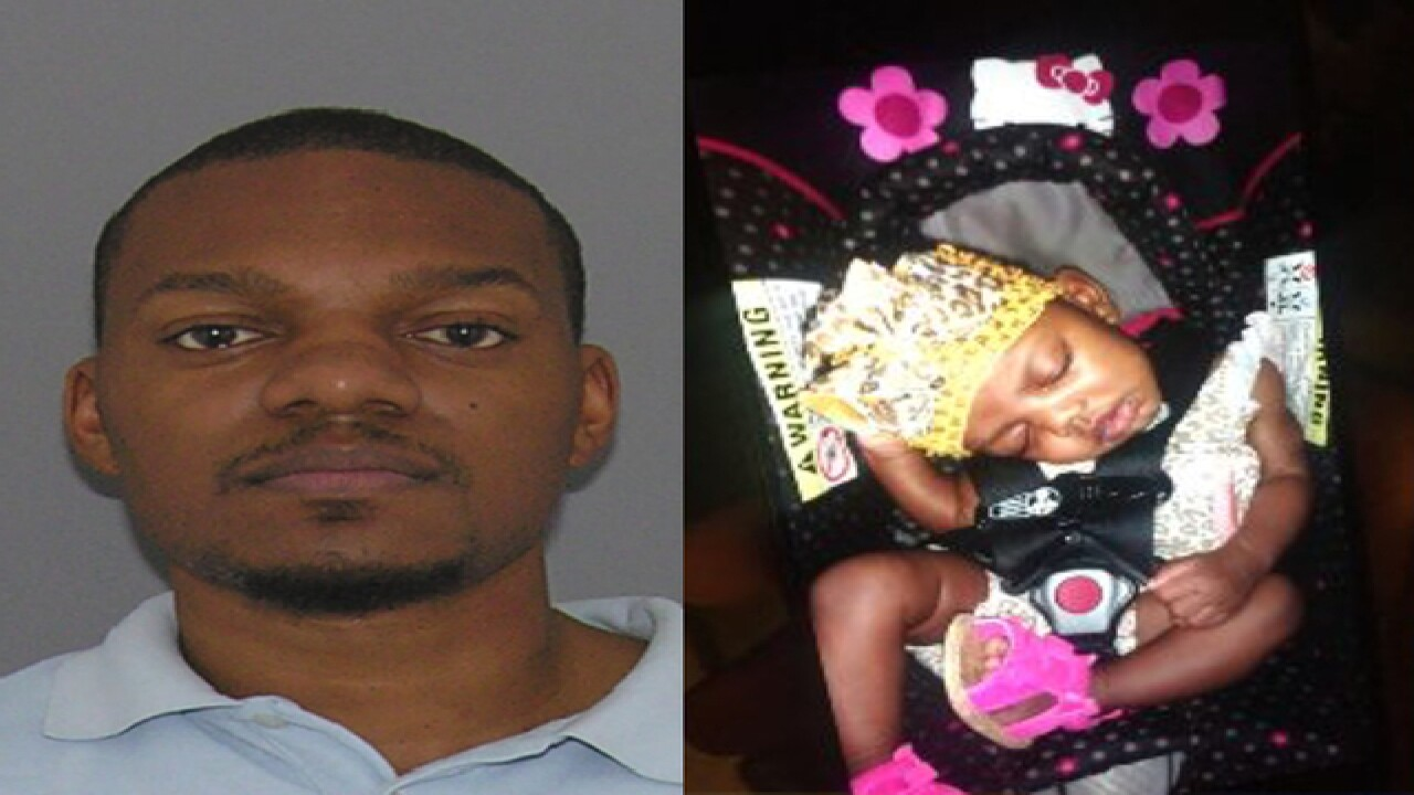 Prosecutor: Dad admitted dropping baby in river