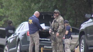 FBI situation near Belton Lake