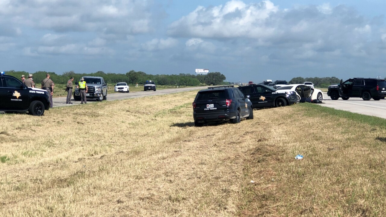DPS, several law enforcement agencies involved in a high-speed pursuit
