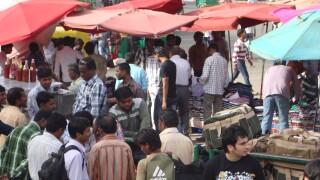 A market in Delhi, India.