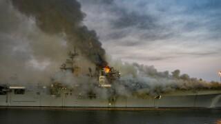 USS Bonhomme Richard (LHD 6) Fire