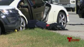 Un reporte de disparos terminó en una persecución a alta velocidad a lo largo de la autopista 37 esta mañana.jpg