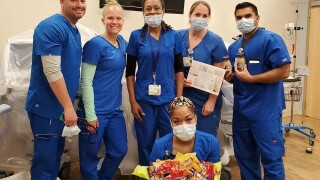 Naomie and coworkers-respiratory therapists at manatee and sarasota counties.jpg