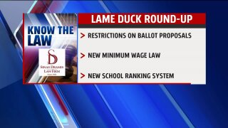 Know the Law – Lame Duck Roundup