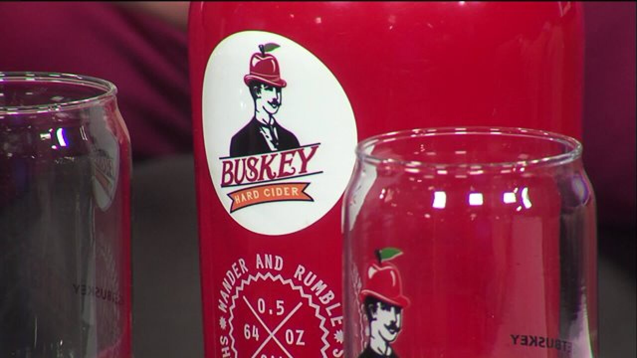 Buskey Cider makes Scott's Addition theirhome