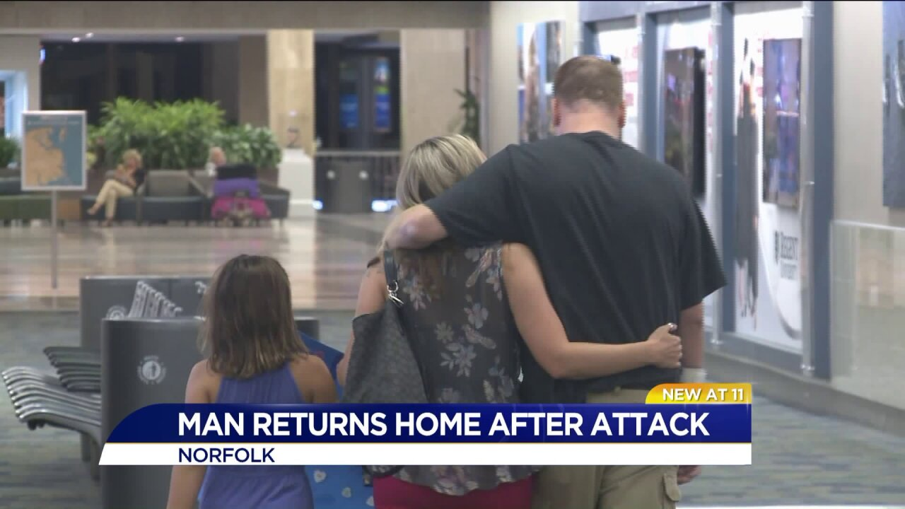 Local man returns home after brutal New Orleans beating