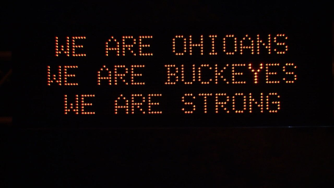 ODOT unveils the latest sign on highway.