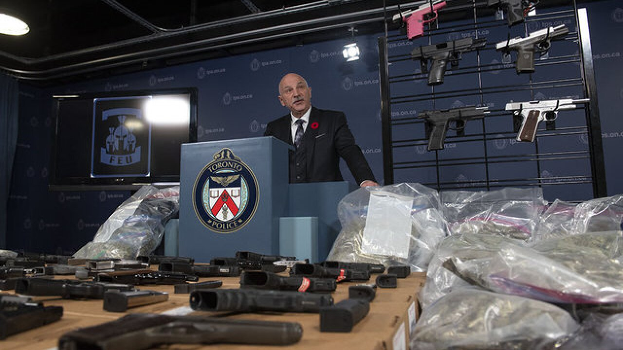 Smuggling ring busted at the Canadian border