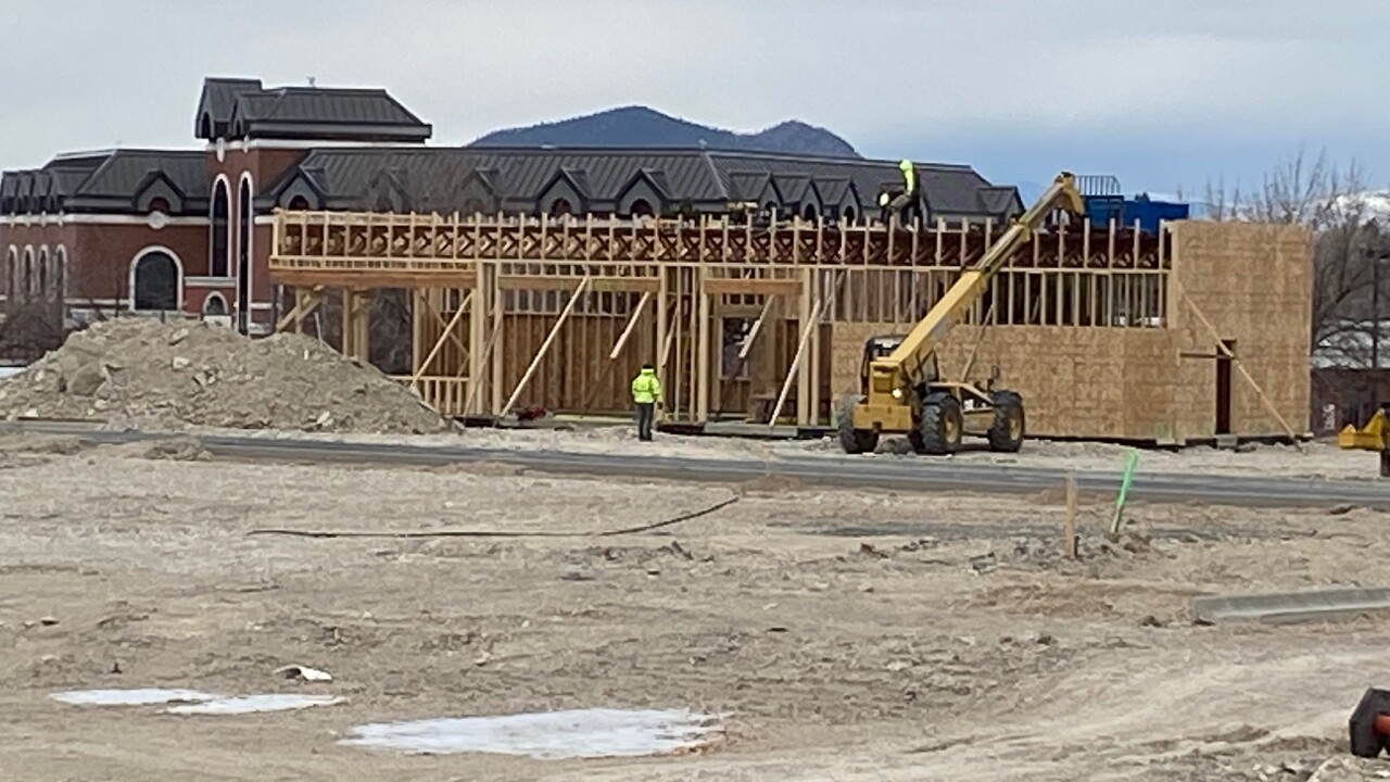 New Mall Site Construction
