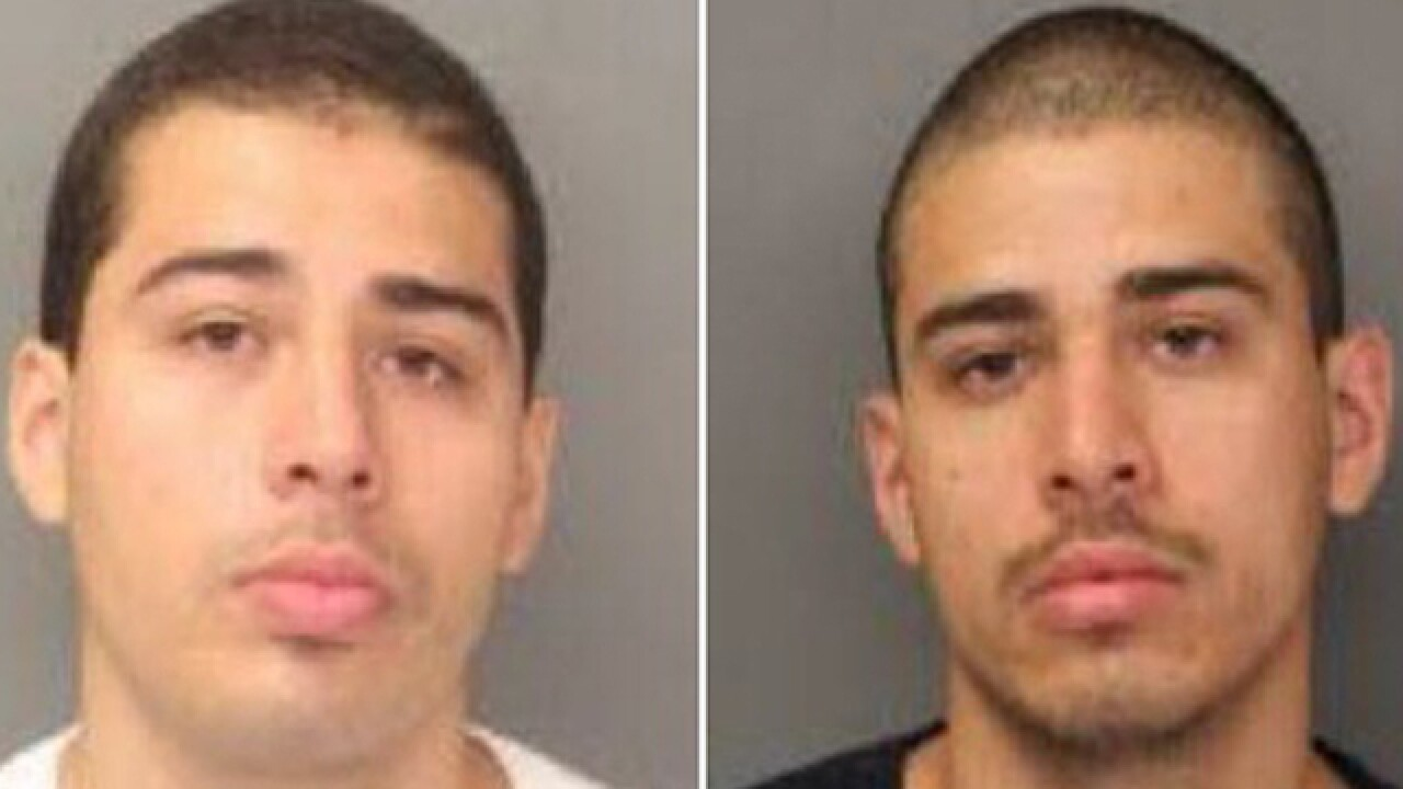 Twins arrested in Mexico charged in 2013 East San Diego murder