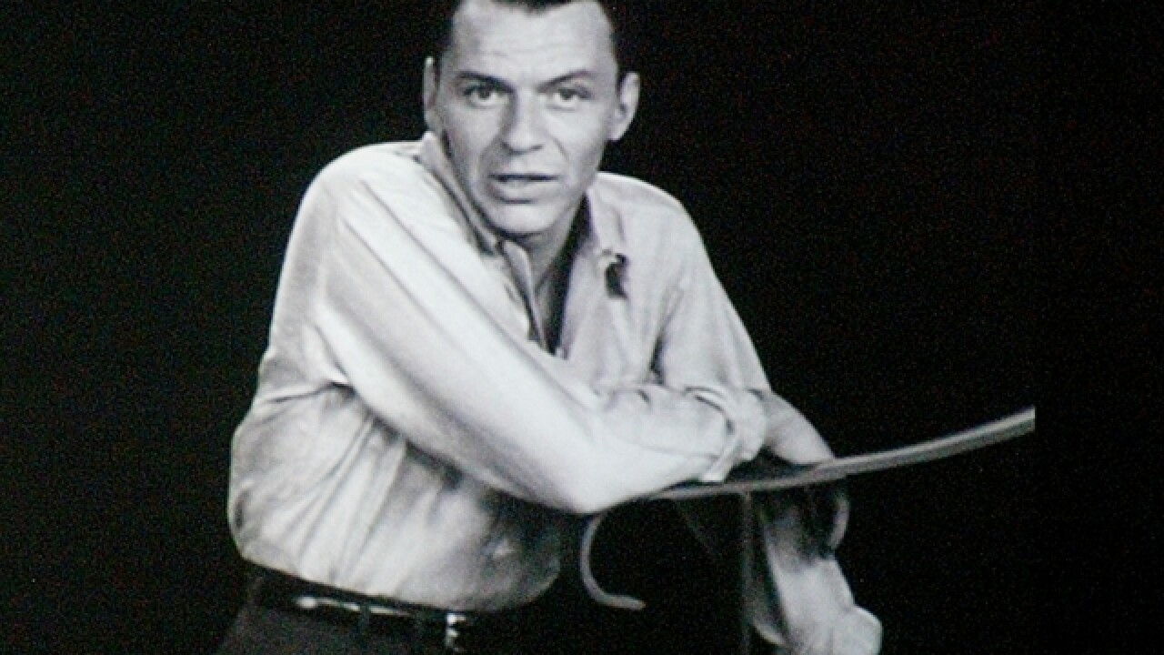 Items belonging to Sinatra make $9M hit at Sotheby's auction