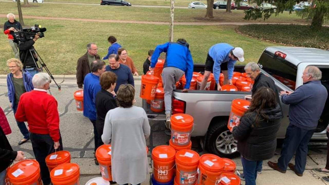 Ohio Church sends relief buckets to Nebraska