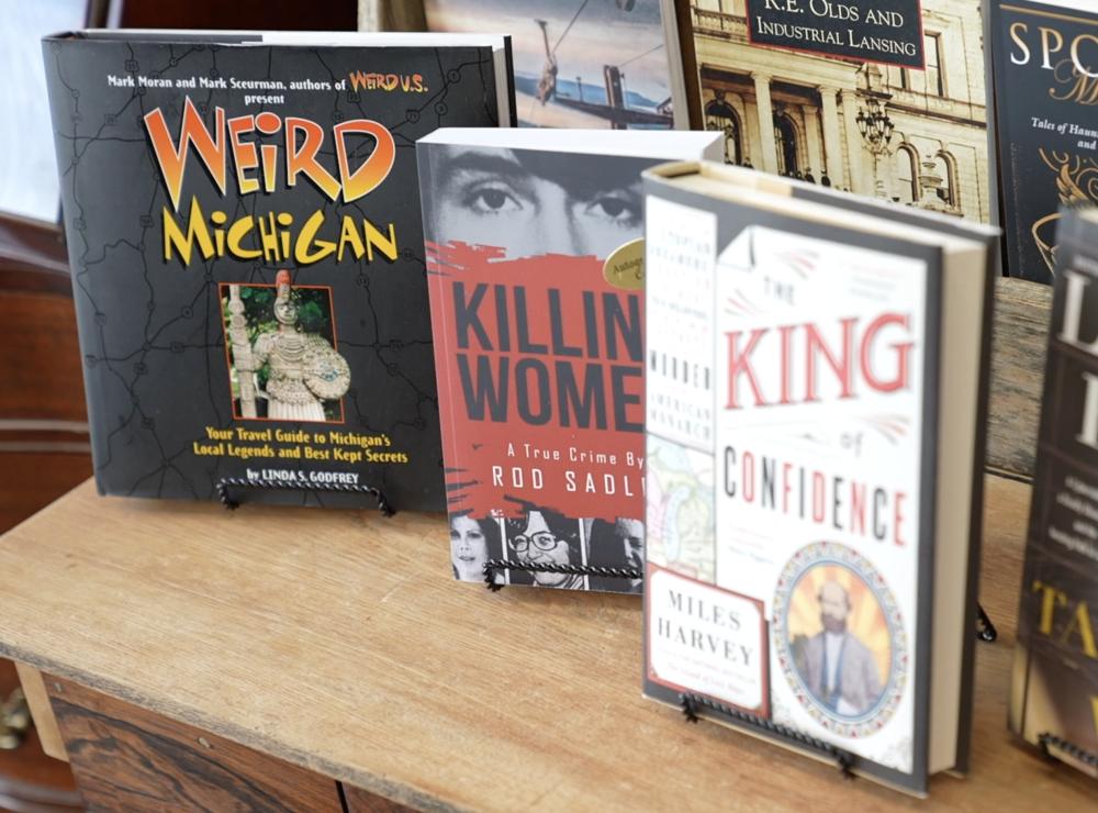 True Crime Books at Deadtime Stories