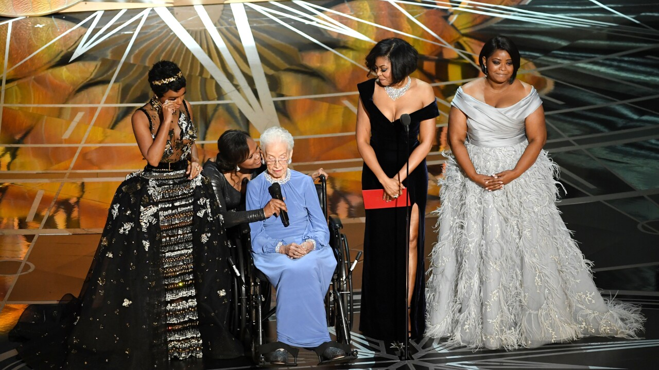 Hampton woman featured in 'Hidden Figures' honored at the Oscars