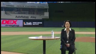 Kim Ng introduced as Miami Marlins general manager