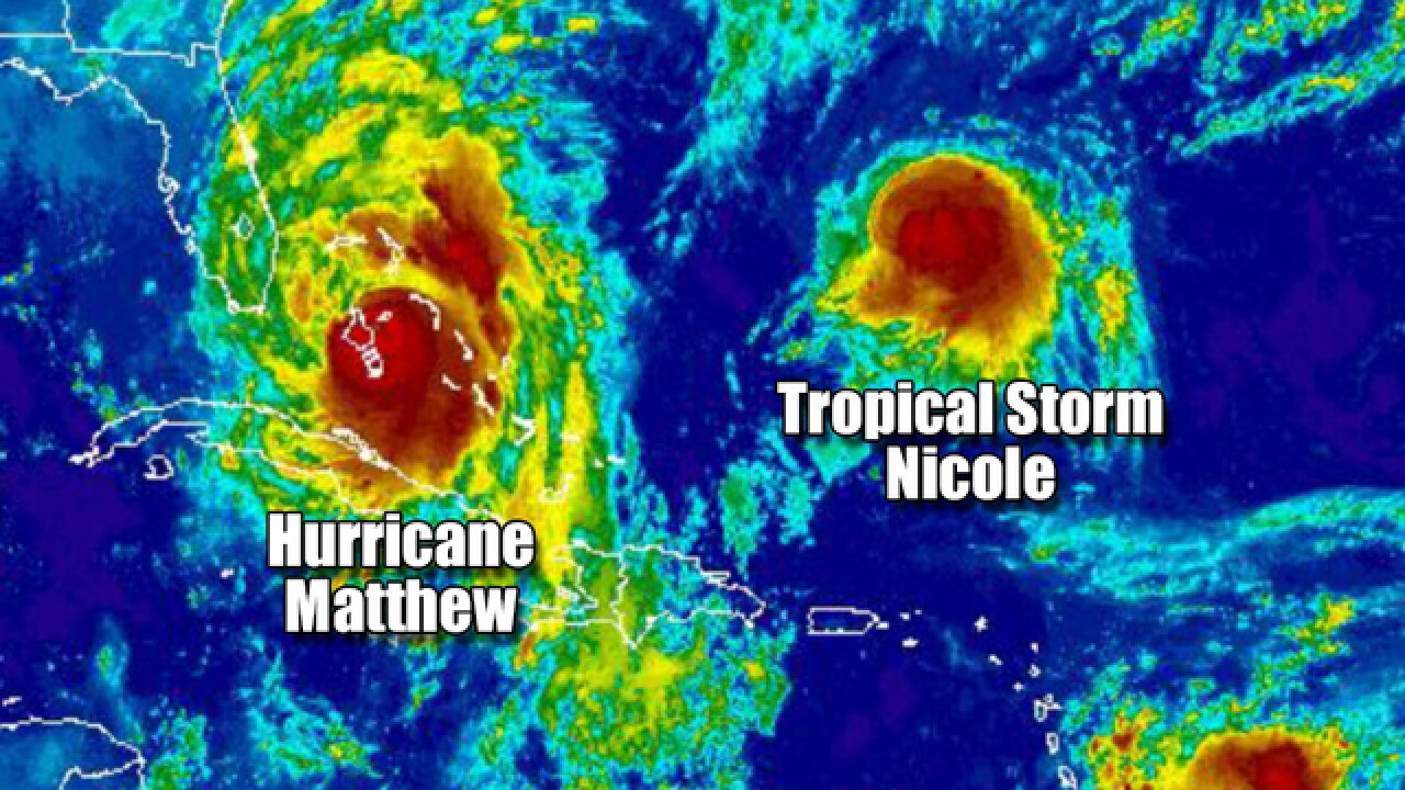 How Hurricane Matthew could hit Florida twice