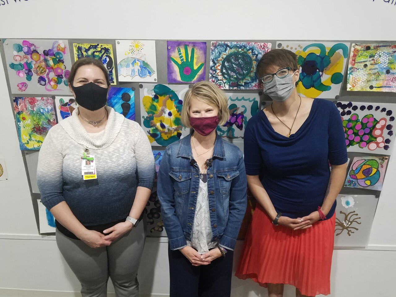 'Healing Art' exhibition at the Holter Museum of Art