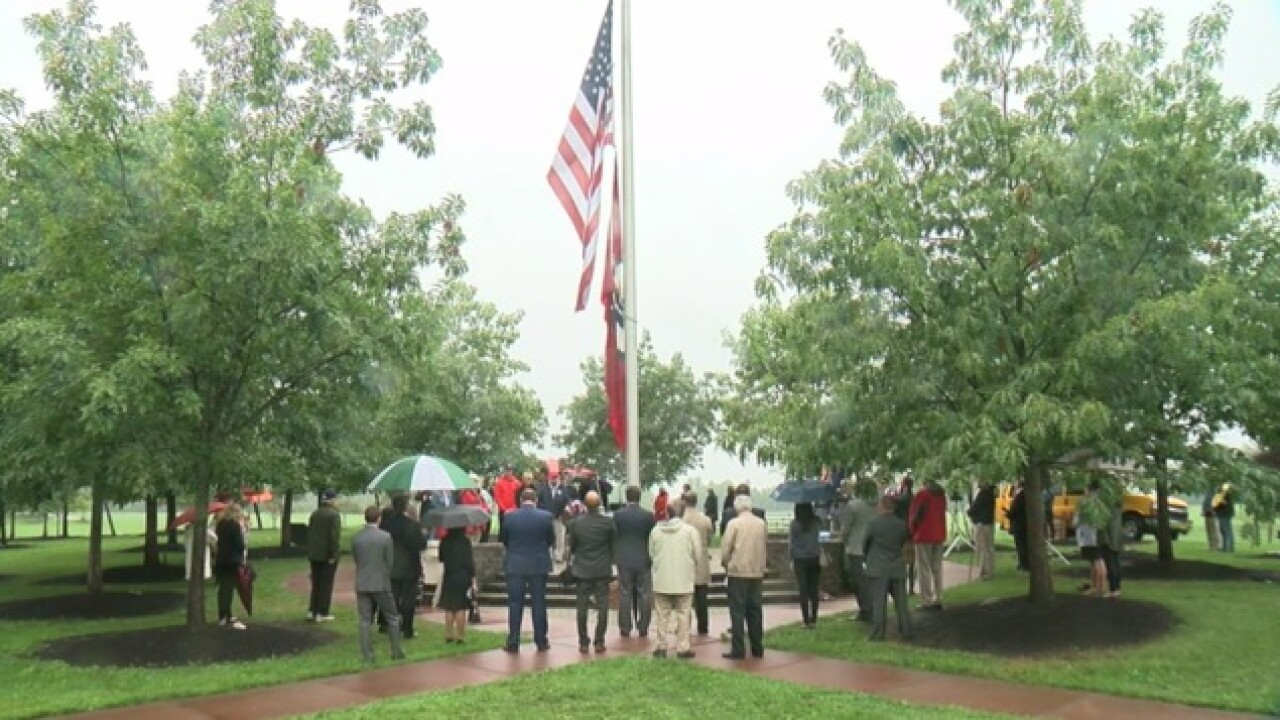 Friends, families gather for 9/11 remembrance ceremony in Amherst
