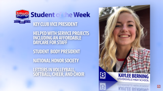 Student of the Week: Kaylee Berning