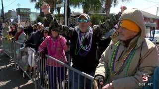 Veteran celebrates life and new mission at Lafayette Mardi Gras