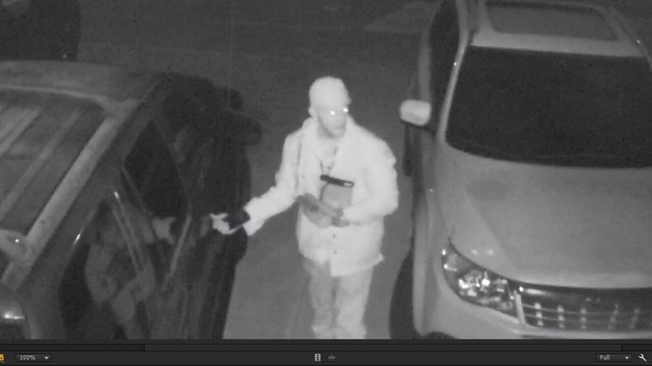 Tooele County Sheriff seeks suspect of several car burglaries