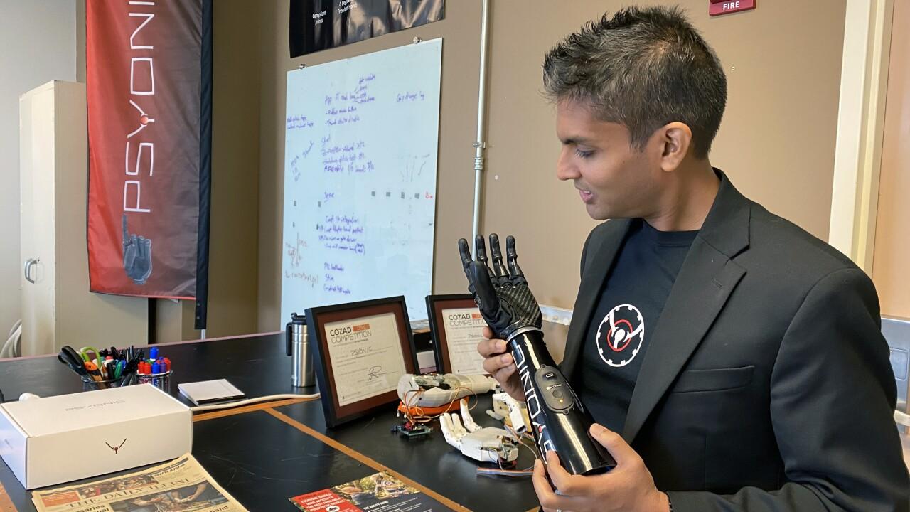PSYONIC CEO Aadeel Akhtar