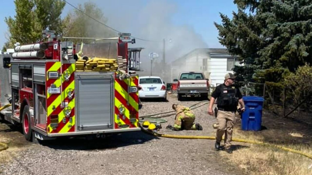 Crews respond to fire in SW Great Falls