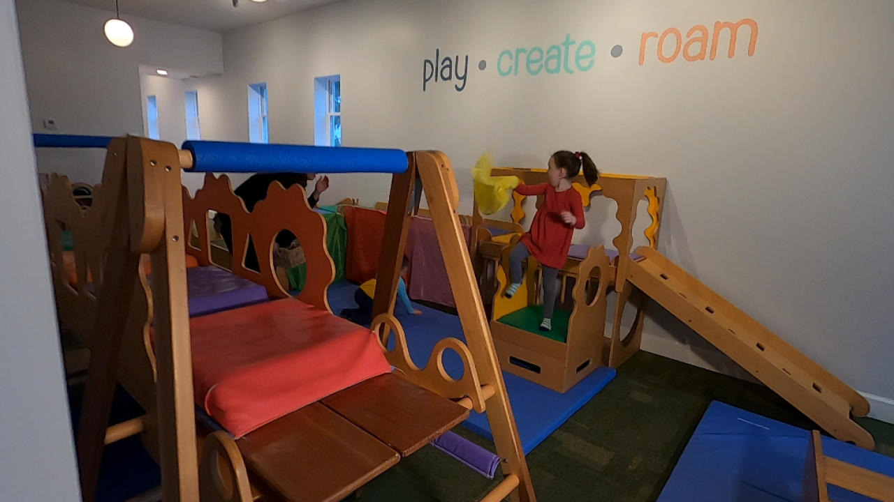 Play, create, and roam at Little Buffalo on Hertel Avenue