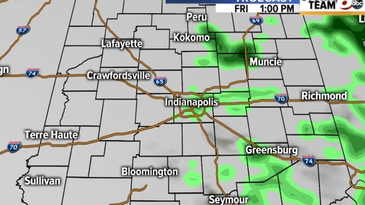 TIMELINE: Tracking rain on your morning commute