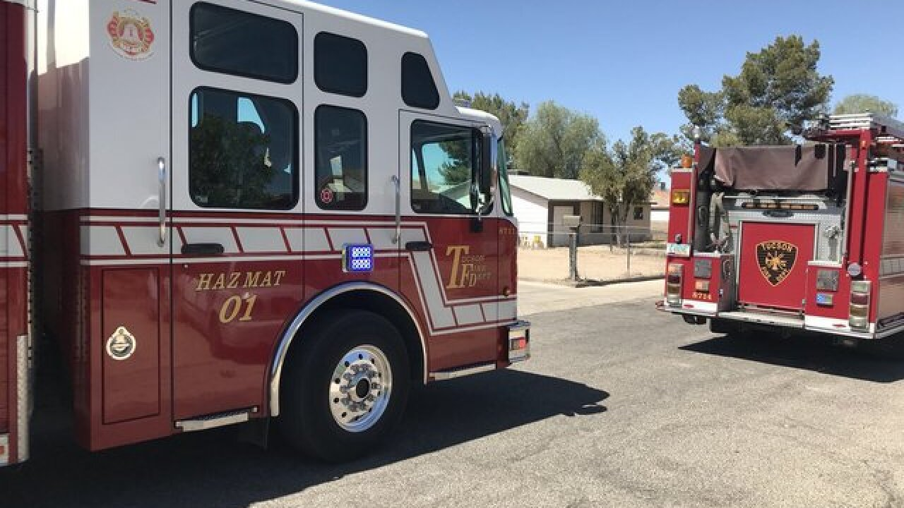 Hazmat deployed to suspicious package in east Tucson