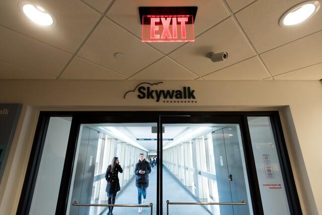 Take a visual tour of the Skywalk in Downtown Cincinnati