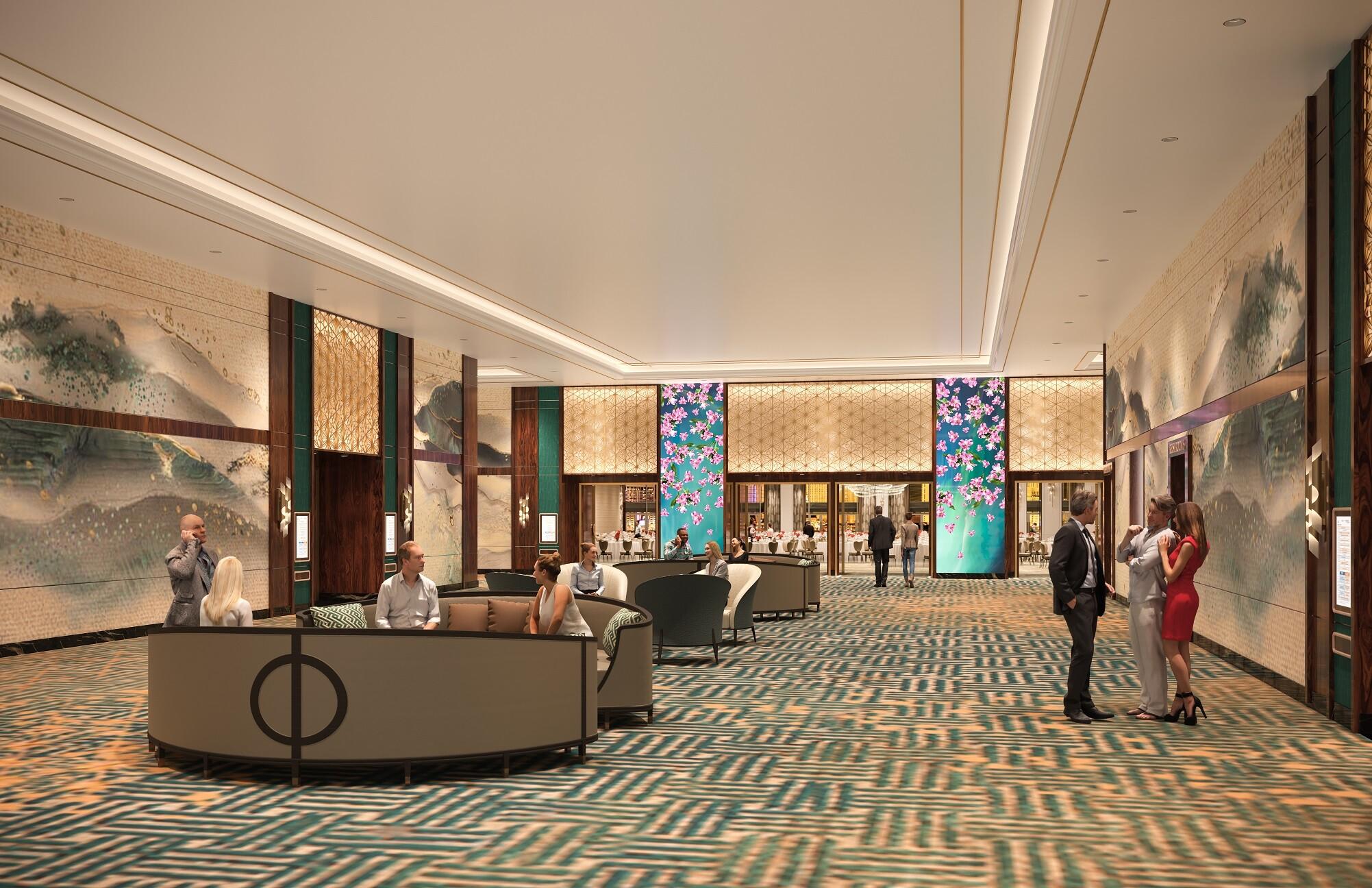 Resorts World Las Vegas - Lily Ballroom Prefunction Rendering.jpg