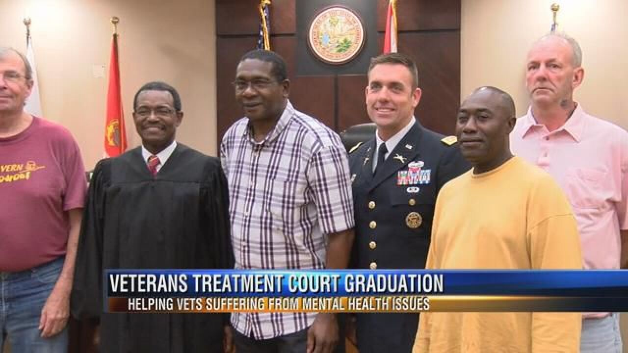 Special court helps Veterans with behavior health issues