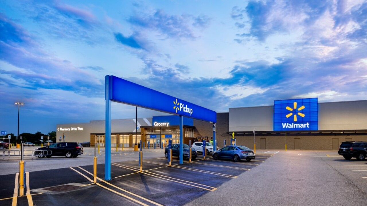 Walmart unveils reimagined store design with self-checkout kiosks, contactless payment options