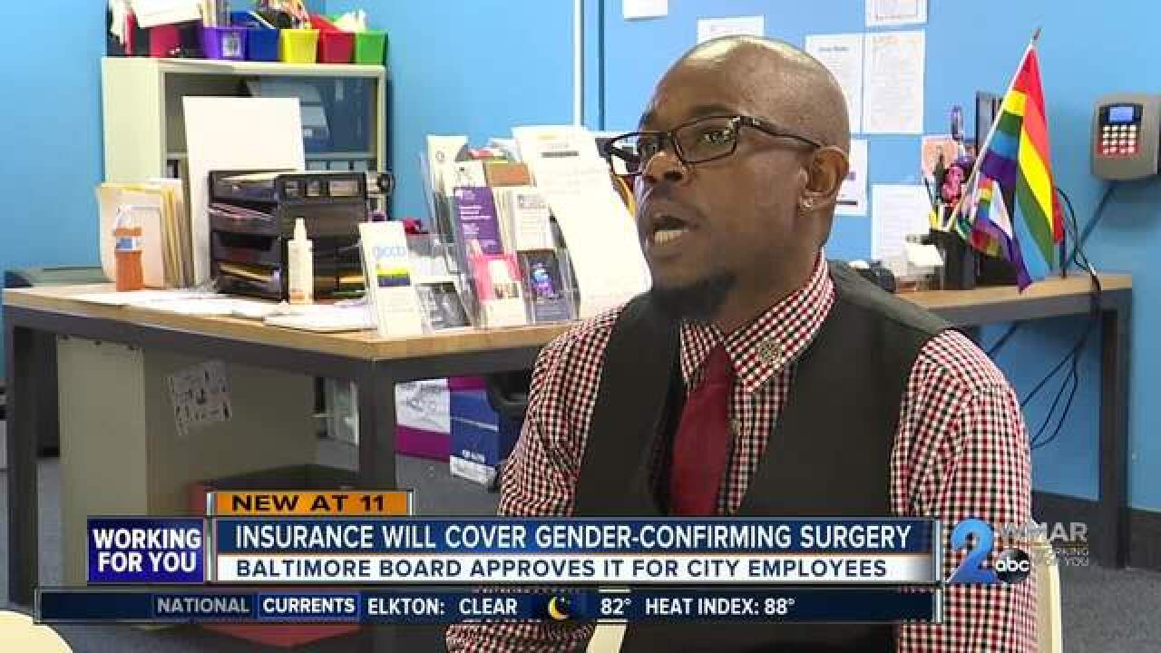 Insurance plans to pay Gender-confirming surgery