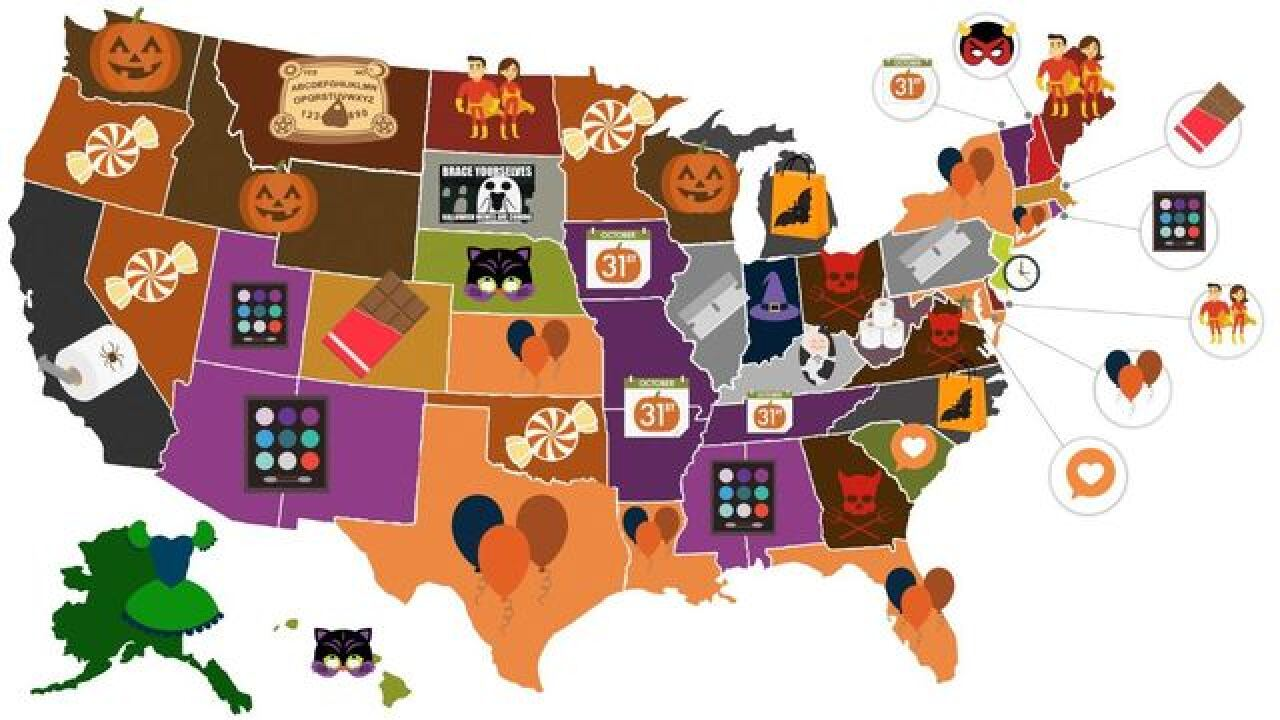 See every state's most searched Halloween trend