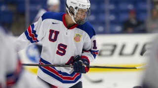 Former USA NTDP standout Trevor Zegras signs three-year entry level deal with Ducks