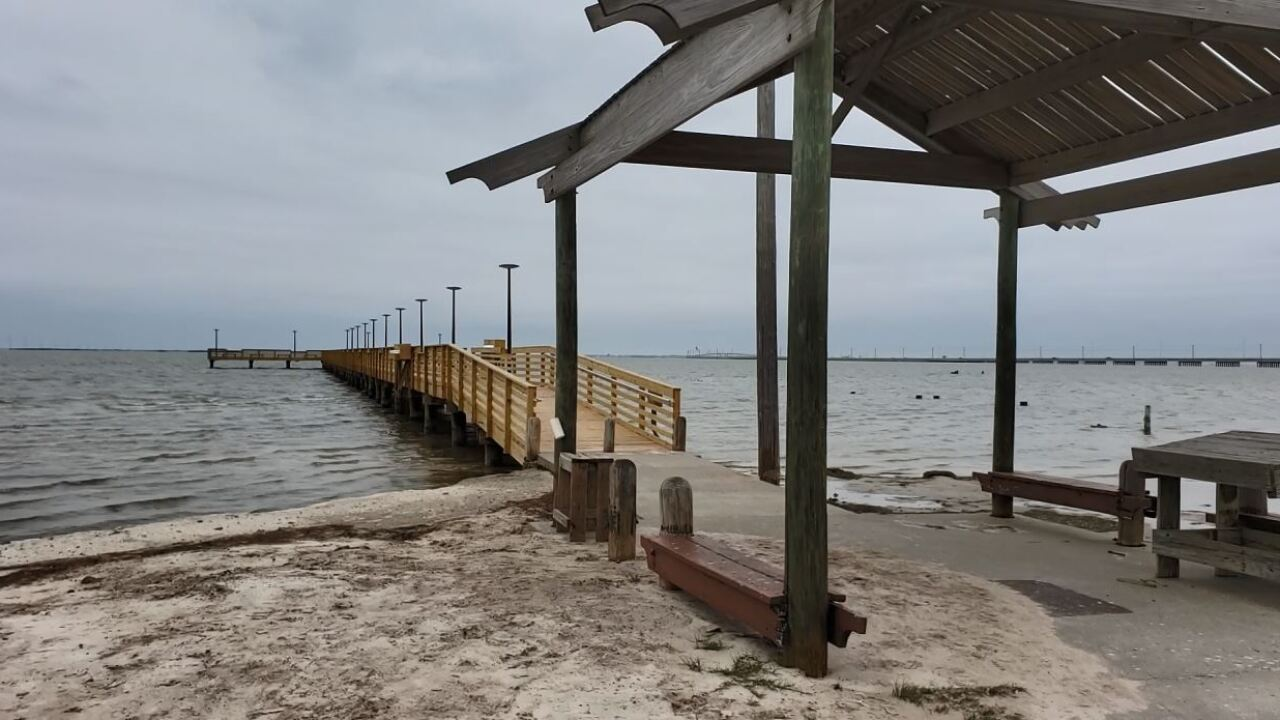 Phillip Dimitt Municipal Fishing Pier is now open