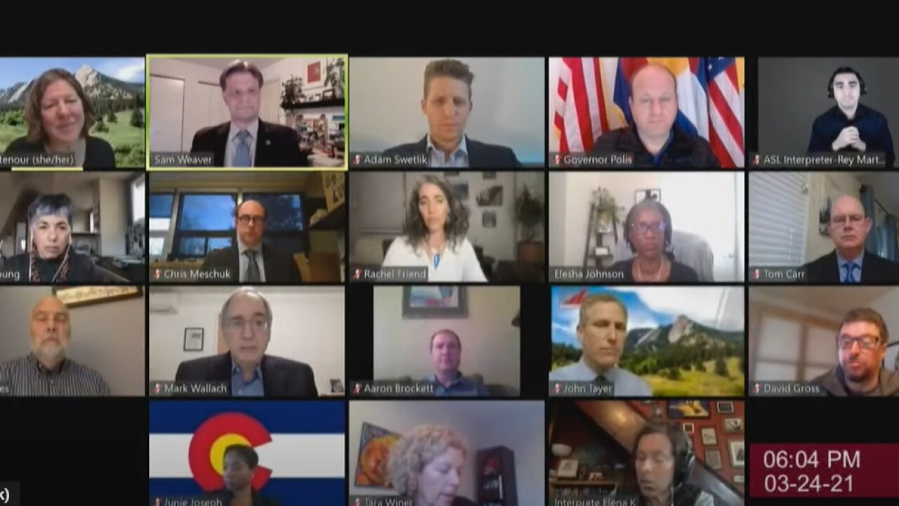 Boulder elected leaders join state and federal legislators for virtual conversations to promote healing, discuss prevention following King Soopers shooting