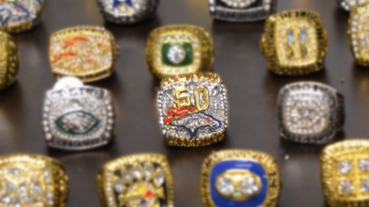 More than 100 phony Super Bowl rings found